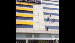 SAR DESIGN BUILD - Re-Sealent Fasade Indogrosir Kemayoran